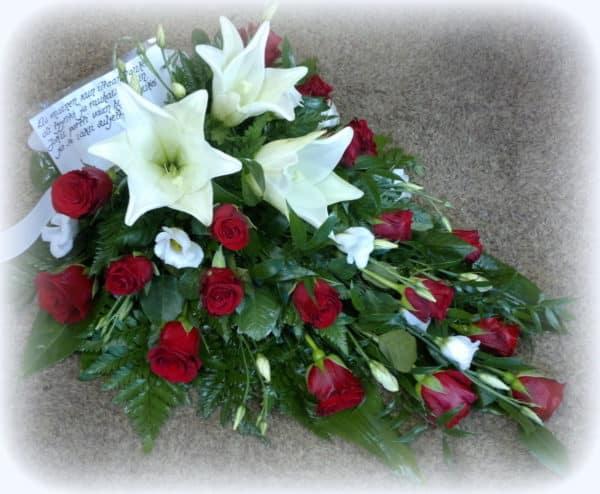 Kukkalaite ruusuista