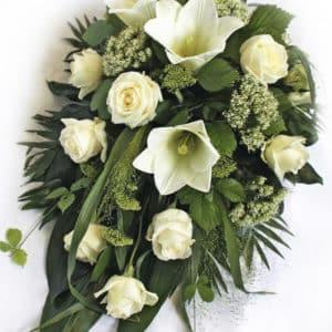 Kukkalaite valkovihreä