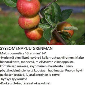 Omena grenman